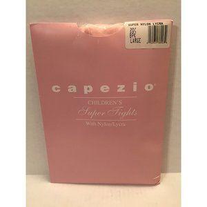 Capezio Childrens Super Tights Nylon Lycra Pink